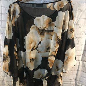 New York & Company Tops - Women's Sheer Blouse